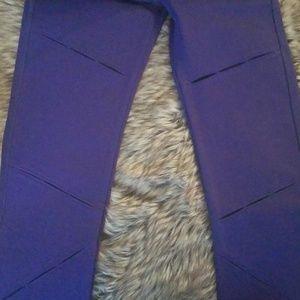 Fabletics Pants - Fabletics High Waisted Leggings Purple Small
